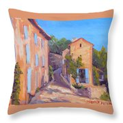 Rue De Gordes Throw Pillow