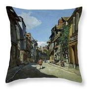 Rue De La Bavole Throw Pillow