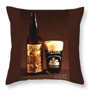 Ruffian Ale Throw Pillow