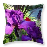 Ruffles And Flourishes Throw Pillow