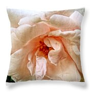 Ruffles Throw Pillow by Tanya Jacobson-Smith
