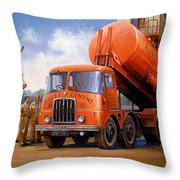 Rugby Cement Thornycroft. Throw Pillow