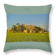 Ruin Of A Khan House Throw Pillow