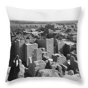Ruins Of Babylon Throw Pillow