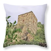 Ruins Of Durnstein Throw Pillow