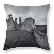 Ruins Of European Medieval Throw Pillow