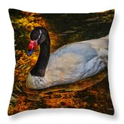 Ripples Of Beauty Throw Pillow