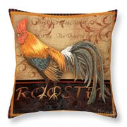 Ruler Of The Roost-4 Throw Pillow