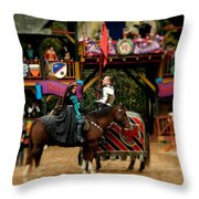 Rules Of Engagement Throw Pillow