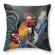 Rulin' The Roost Throw Pillow