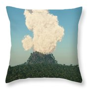 Rumble... Throw Pillow