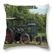 Rumely Mom And Son Throw Pillow