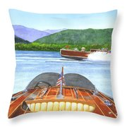 Run About Throw Pillow