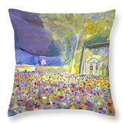 Head For The Hills At The Mish 2011 Throw Pillow