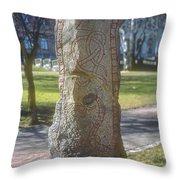 Runestone Throw Pillow