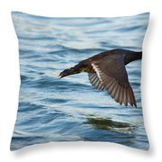 Running On Water Series 7 Throw Pillow