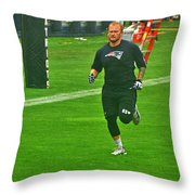 Running While Physically Unable To Perform Throw Pillow