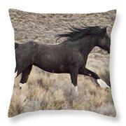 Running Wild 2 Throw Pillow