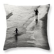 Running Wild Running Free Throw Pillow by Edward Fielding