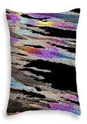 Runnoff Rainbows Throw Pillow