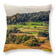 Rural America Throw Pillow