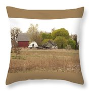 Rural Backstory Throw Pillow