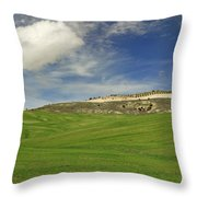 Rural Beauty At Andalusia Throw Pillow