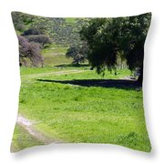 Rural Countryside Throw Pillow