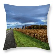 Rural Drama.. Throw Pillow