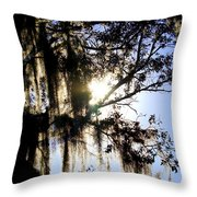 Rural Florida Sky Throw Pillow
