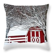 Rural Living Throw Pillow