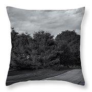 Rural Road 52 Throw Pillow