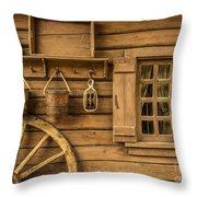 Rural Wertern Throw Pillow