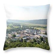 Rushford Minnesota Throw Pillow