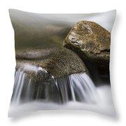 Rushing Peace Throw Pillow