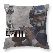 Russell Wilson Throw Pillow