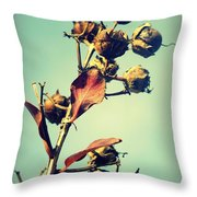 Russet November I Throw Pillow