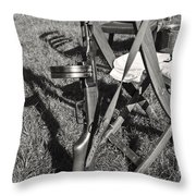 Russian Ppsh-41 7.62 Mm Sub-machine Gun Throw Pillow