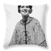 Russian Princess Opera Debut Throw Pillow