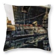 Russian Submarine Extreme Throw Pillow