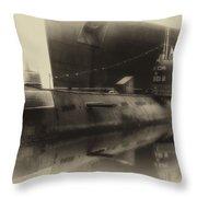 Russian Submarine Heirloom 01 Throw Pillow