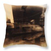 Russian Submarine Heirloom 02 Throw Pillow