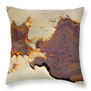 Rust #1 Throw Pillow