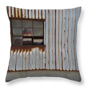 Rust And Window 1 Throw Pillow