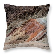 Rust Colored Formation Throw Pillow