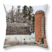 Rusted And Brown Throw Pillow