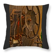 Rusted Brake Throw Pillow