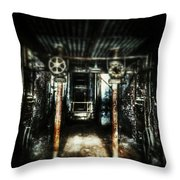 Rusted Charm  Throw Pillow