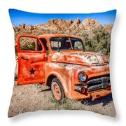 Rusted Classics - Job Rated Throw Pillow
