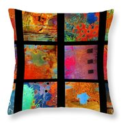 Rusted Glory Showcase Throw Pillow